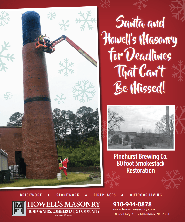 December 2018 Pinehurst Brewery Ad